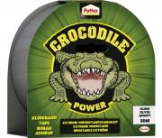 Pattex Crocodile Power Klebeband Silber 1 Rolle Gewebeband 30m x 48mm