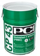 PCI CP 43 Dichtlast F Xxpress Schnelle 2K-lösemittelfreie faserarmierte Bitumenkautschuk-Spachtelmasse 28 kg