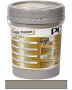 PCI Durapox Premium Epoxidharzmörtel zum Verfugen und Verlegen von Fliesen zementgrau 5 kg