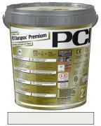 PCI Durapox Premium Epoxidharzmörtel zum Verfugen und Verlegen von Fliesen lichtgrau 2 kg