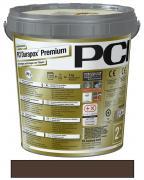 PCI Durapox Premium Epoxidharzmörtel zum Verfugen und Verlegen von Fliesen dunkelbraun 2 kg