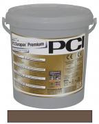 PCI Durapox Premium Epoxidharzmörtel zum Verfugen und Verlegen von Fliesen rotbraun 2 kg