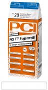 PCI Ft-Fugenweiss Fugenmörtel für Steingut- und Steinzeugbeläge Zement-Mörtel weiß 5 kg