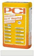 PCI FT Megafug Fugenmörtel für Spaltklinker und großformatige Steingut- und Steinzeugplatten silbergrau 25 kg