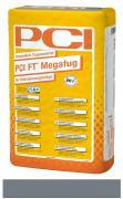 PCI FT Megafug Fugenmörtel für Spaltklinker und großformatige Steingut- und Steinzeugplatten basalt 25 kg