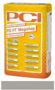 PCI FT Megafug Fugenmörtel für Spaltklinker und großformatige Steingut- und Steinzeugplatten sandgrau 25 kg
