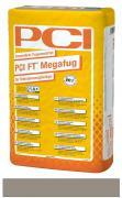 PCI FT Megafug Fugenmörtel für Spaltklinker und großformatige Steingut- und Steinzeugplatten zementgrau 25 kg