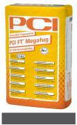 PCI FT Megafug Fugenmörtel für Spaltklinker und großformatige Steingut- und Steinzeugplatten anthrazit 25 kg