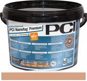 PCI Nanofug Premium Variabler Flexfugenmörtel für alle Fliesen und Natursteine beigebraun 5 kg