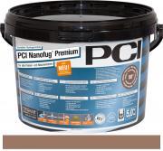 PCI Nanofug Premium Variabler Flexfugenmörtel für alle Fliesen und Natursteine hellbraun 5 kg