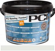 PCI Nanofug Premium Variabler Flexfugenmörtel für alle Fliesen und Natursteine silbergrau 5 kg