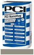 PCI Nanofug Variabler Flexfugenmörtel insbesondere für Steingut- und Steinzeugbeläge zementgrau 15 kg