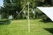 Peddy Shield Metallstange 270 cm zur Befestigung von Sonnensegeln bis 20 m²
