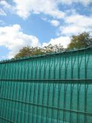 Peddy Shield Sichtschutz HDPE, grün, incl. Kordel, 180 cm x 500 cm Länge