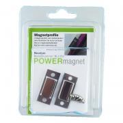 POWERmagnet Profile einfach mit eingelegten Magneten inkl. Schrauben