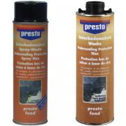 presto Unterbodenschutz auf Wachsbasis schwarz 500 ml