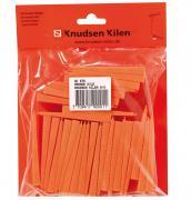 Primo Keile Abstandskeile Baukeile Distanzkeile Rastkeile Verlegekeile orange 80 x 40 x 8 mm (30 Stück)