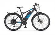 REX E-Bike Alu-MTB Twentyniner 29 e9.6 Damen Herren 27-Gang Kettenschaltung 250 W schwarz matt