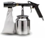 Rowi Druckluft-Sandstrahlpistole mit Rückgewinnung DSR 1000/1