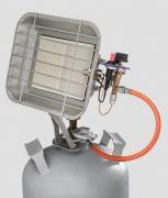 Rowi Gas-Heizstrahler 4400 Watt Piezozündung Heizung Heizgerät Heizer