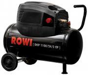Rowi Kompressor 1,1 kW DKP 1100/24/2 OF ölfrei