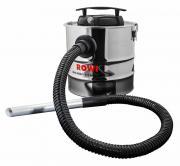 Rowi RAS 800/18/1 Aschesauger 800 W, 18 Liter Inox Basic