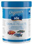 Söll Organix Small Cichlid Pellets 270 ml Fischfutter Hauptfutter-Pellets für Aquarienfische