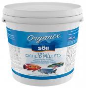 Söll Organix Small Cichlid Pellets 5 L Fischfutter Alleinfuttermittel Hauptfutter-Pellets für Cichliden