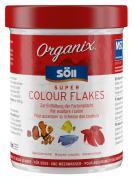 Söll Organix Super Colour Flakes 270 ml Fischfutter Futterflocken Alleinfuttermittel für Zierfische
