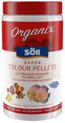 Söll Organix Super Colour Pellets 1 L Fischfutter Futterpellets Alleinfuttermittel für Zierfische
