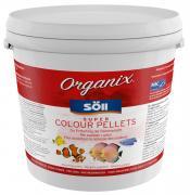 Söll Organix Super Colour Pellets 5 L Fischfutter Futterpellets Alleinfuttermittel für Zierfische