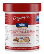 Söll Organix Super Colour Pellets Micro 130 ml Fischfutter Granulat Alleinfuttermittel für Zierfische