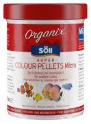 Söll Organix Super Colour Pellets Micro 270 ml Fischfutter Granulat Alleinfuttermittel für Zierfische