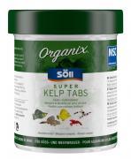 Söll Organix Super Kelp Tabs 130 ml Fischfutter Bodenfuttertabletten Alleinfuttermittel für Zierfische
