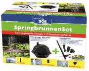 Söll SpringbrunnenSet (Filterpumpe SFP-2.000 und FontänenSet)