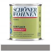 Schöner Wohnen Home Buntlack Taupegrau seidenmatt 125 ml