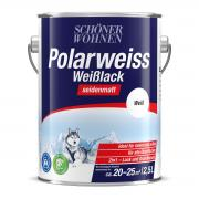 Schöner Wohnen Polarweiss Weißlack seidenmatt 2,5 L
