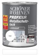 Schöner Wohnen ProfiDur Metallschutzlack seidenmatt Weiß 750 ml