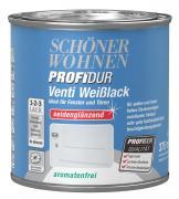 Schöner Wohnen ProfiDur Venti Weißlack seidenglänzend weiß 375 ml