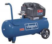 Scheppach HC105DC Kompressor Doppelzylinder Ölfrei 1,8 kW 230V