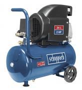 Scheppach HC26 Kompressor 24 L Ölgeschmiert mit Motorenöl 1,5 kW 230V