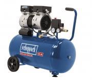 Scheppach HC50Si Flüster-Kompressor Doppelzylinder Ölfrei 750 W 230V
