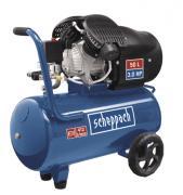 Scheppach HC52DC Kompressor 50 L, 8 bar, 2,2 kW, Doppelzylinder, Ölgeschmiert