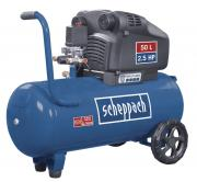 Scheppach HC54DC Kompressor 50 L, 10 bar, 1,8 kW, Doppelzylinder, Ölfrei