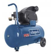 Scheppach HC60 Kompressor 50 L Ölgeschmiert mit Motorenöl 1,5 kW 230V