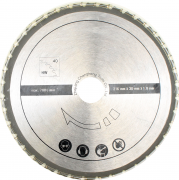 Scheppach Multifunktions-Sägeblatt Professional MW Ø 216 x 30 mm 40 Zähne