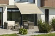 Schneider Sonnensegel Lanzarote 400x400 natur quadratisch UV-Schutz (ca.50%)