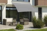 Schneider Sonnensegel Lanzarote 400x400 silbergrau quadratisch UV-Schutz (ca.50%)