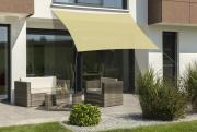 Schneider Sonnensegel Lanzarote 400x400 schilf quadratisch UV-Schutz (ca.50%)