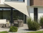 Schneider Sonnensegel Lanzarote 400x400x300 natur dreieckig UV-Schutz (ca.50%)
